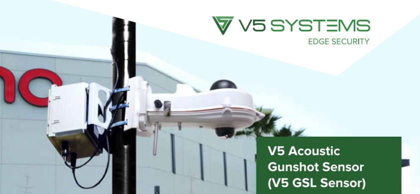 V5 Systems Acoustic Gunshot Sensor