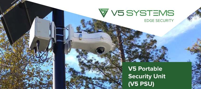 V5 Systems Portable Security Unit
